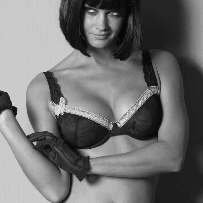 busty black bra women NeSFW fashion