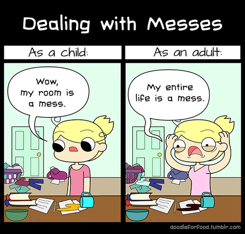 Dealing with Messes Dealing with Messes Humor forum fodder