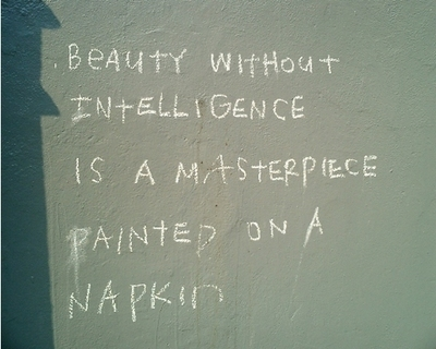 beauty-without-intelligence