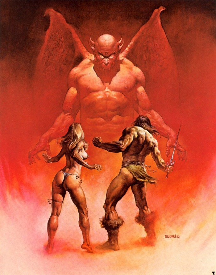 1401824198799 700x889 fighting the devil vertical wallpaper Sexy NeSFW Fantasy   Science Fiction Art