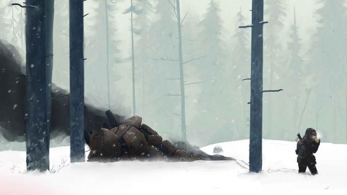 Snow battle 700x393 Snow battle Wallpaper Fantasy   Science Fiction