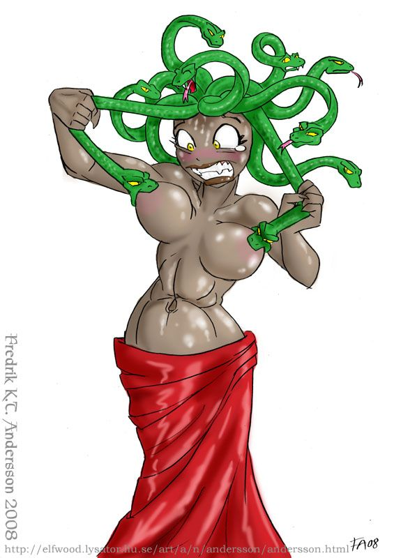 gorgon troubles Gorgon daily struggle tits Sexy NeSFW mythology gorgon