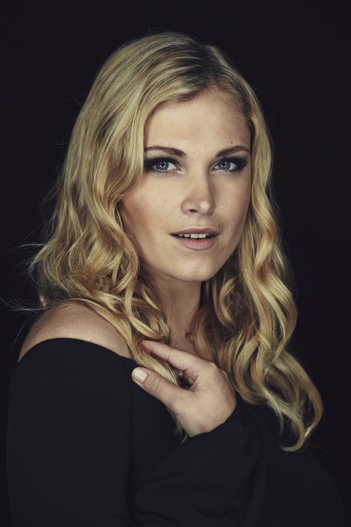 Eliza Taylor - with way too much eye liner.jpg