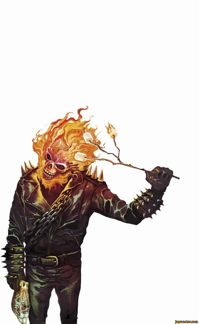 Ghost Rider Cooking Marshmellows.jpg