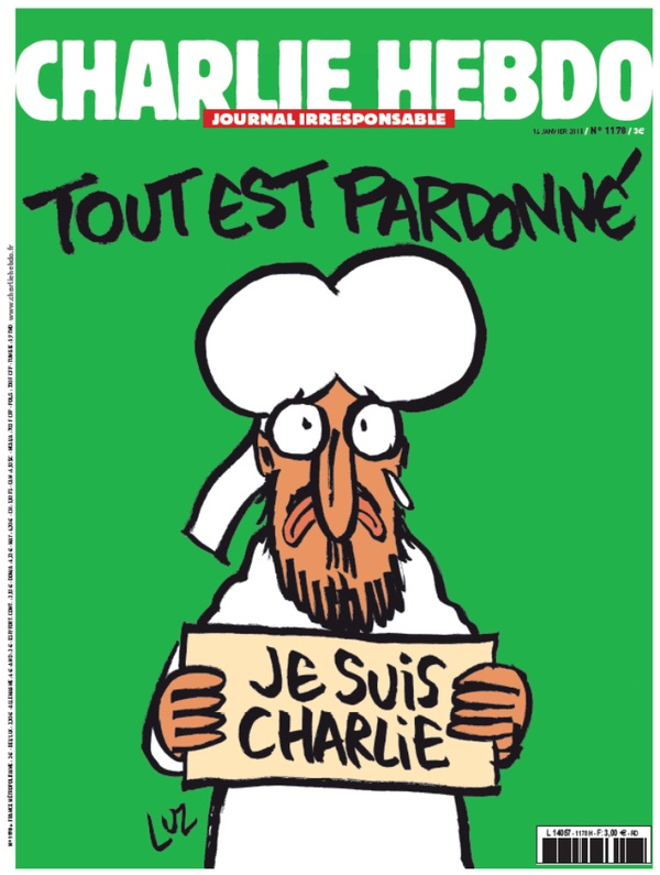 charlie hebdo All Is Forgiven