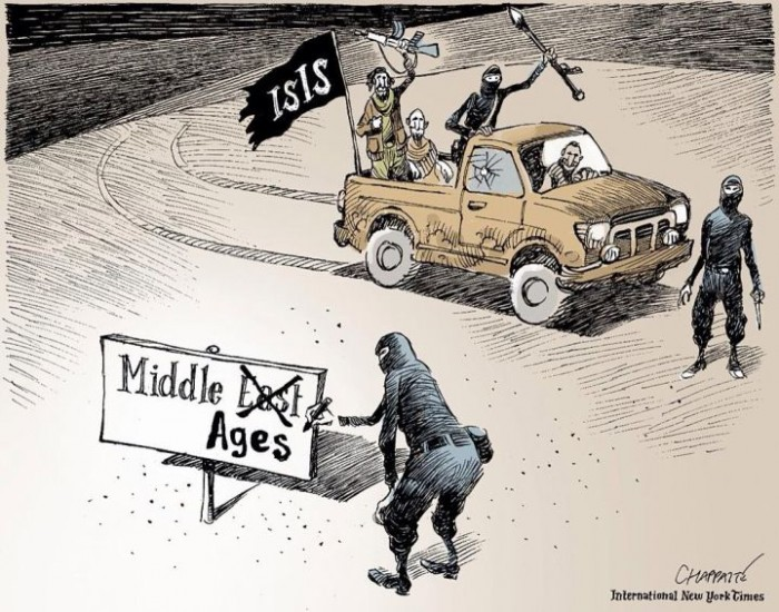 middle ages isis 700x550 Blast to the past