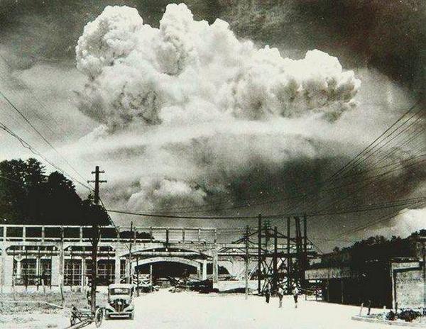 nuclear explosion japan