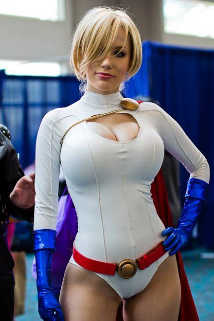 Crystal Graziano as Power Girl Crystal Graziano as Power Girl Sexy powergirl NeSFW cosplay Comic Books