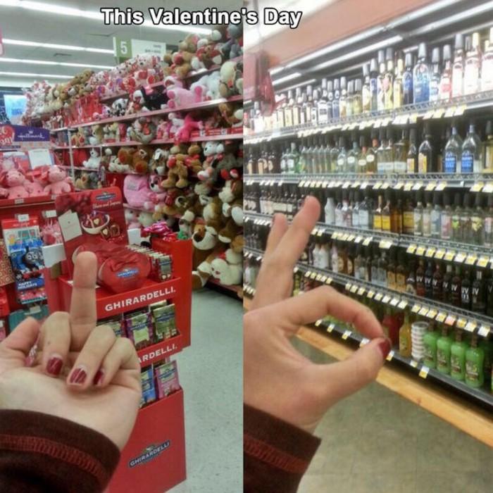 F Valentines Day 700x700 F Valentines Day Valentines Day Humor Food Alcohol