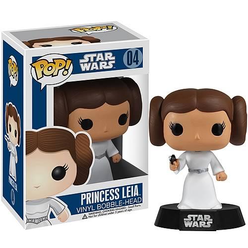 Star Wars Princess Leia Pop! Vinyl Figure Bobble Head - Funko - Star Wars - Pop! Vinyl Figures at Entertainment Earth