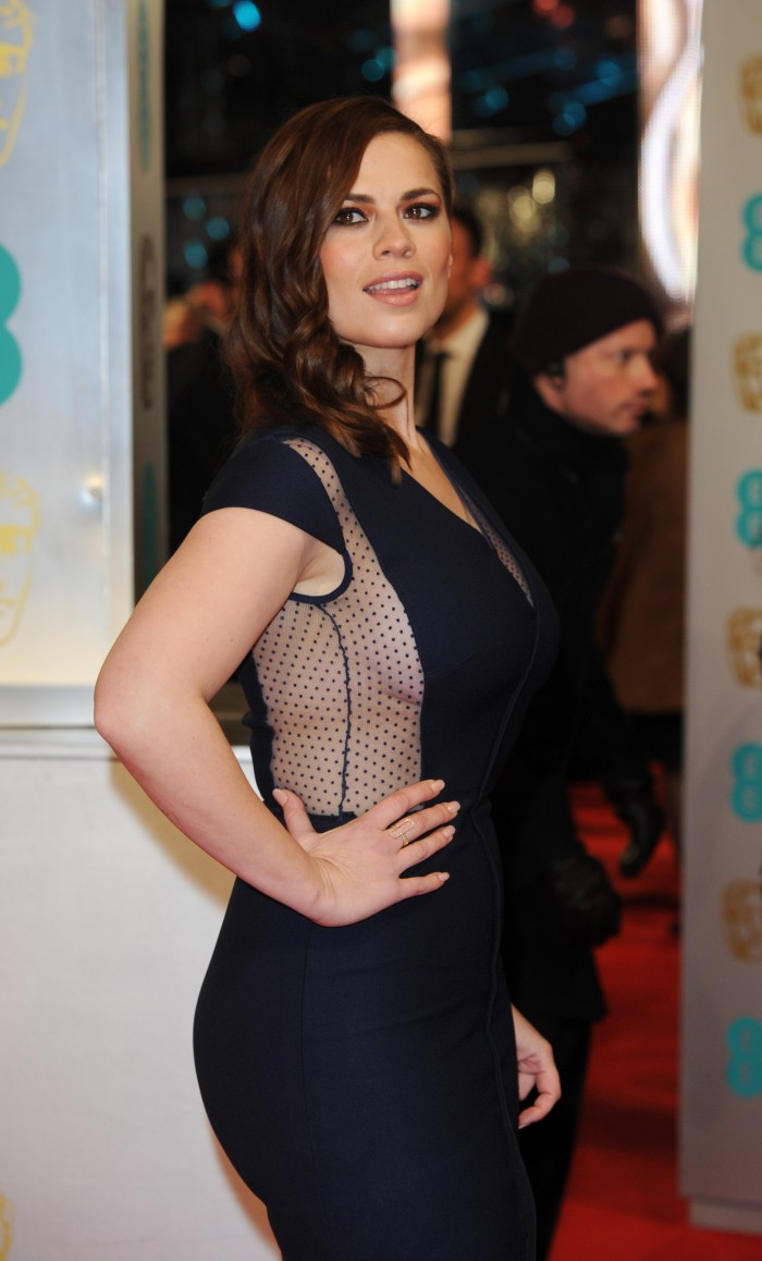 Hayley Atwell – EE British Academy Film Awards in London  (2)