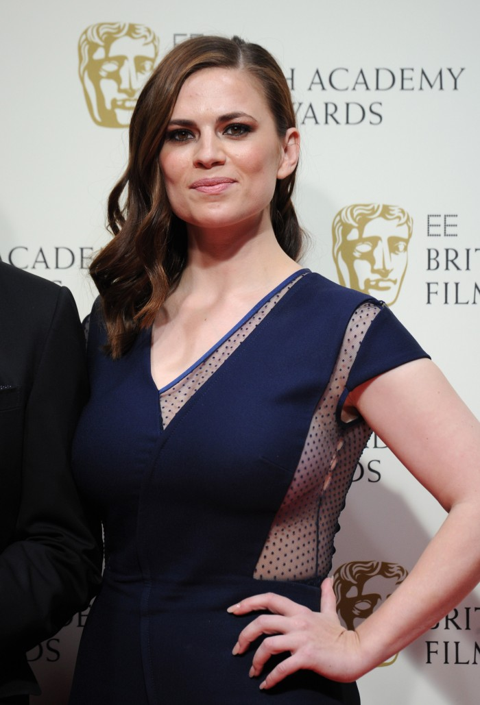 Hayley Atwell – EE British Academy Film Awards in London  (4)
