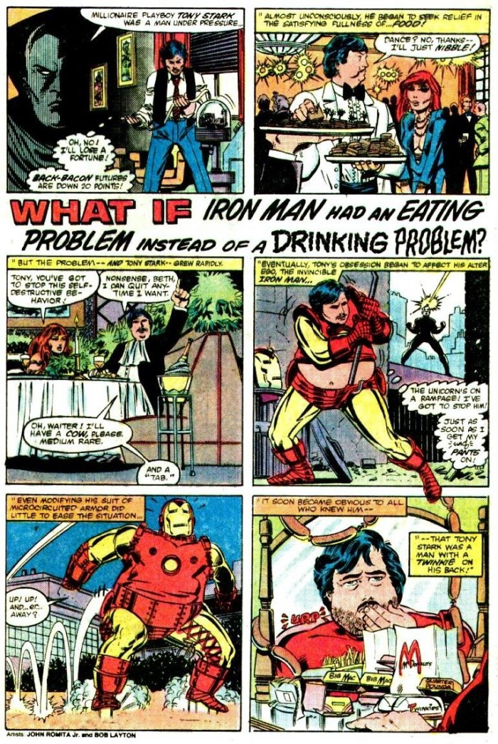 Iron Mans eating problem 700x1046 Iron Man's eating problem