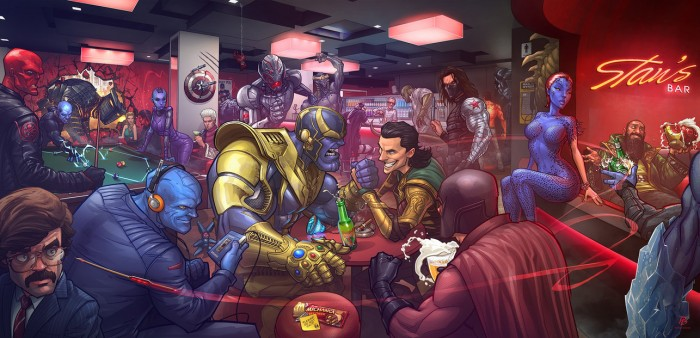MCU Villians 700x338 MCU Villians Wallpaper Movies Comic Books