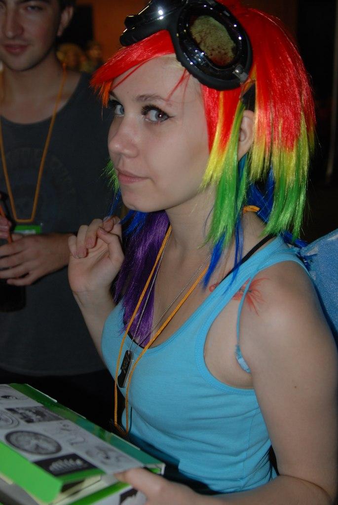 Rainbow Dash Rainbow Dash Sexy mlp cosplay
