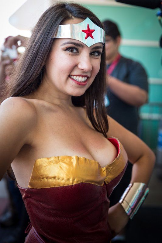 Trisha Hershberger as Wonder Woman DB Trisha Hershberger as Wonder Woman   DB wonder woman Sexy NeSFW cosplay Comic Books