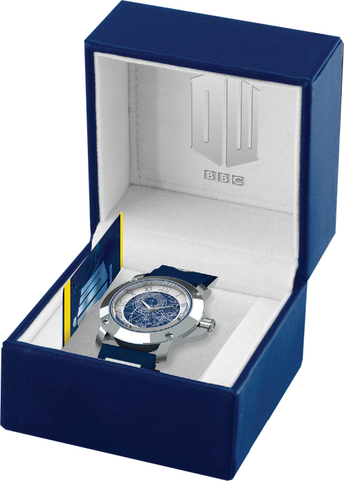 doctor Who TARDIS watch TARDIS Watch