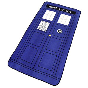 f30b tardis throw Exclusive Doctor Who TARDIS Throw Blanket