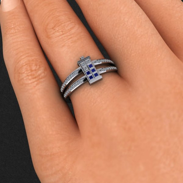 ring31 Doctor Who TARDIS Ring