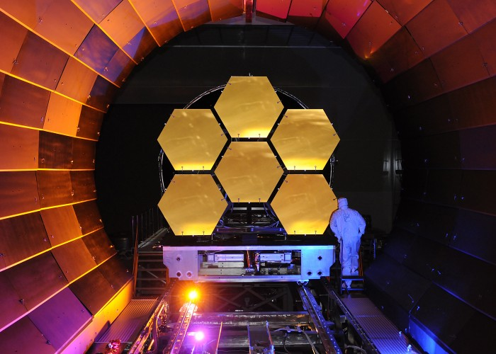 Bits of the James Webb Telescope