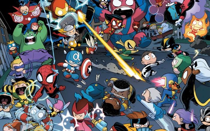 Chibi Marvel 700x438 Chibi Marvel