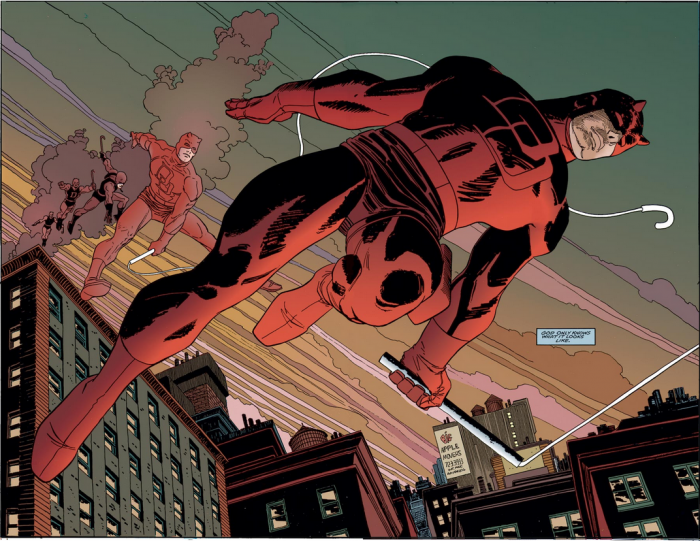 Daredevil is red  700x541 Daredevil is red