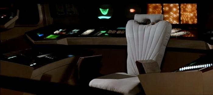 Empty Spock Chair 700x314 Empty Spock Chair Wallpaper star trek Movies