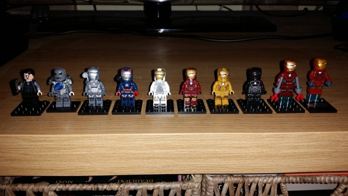 Iron man mini figs 700x394 Iron man mini figs