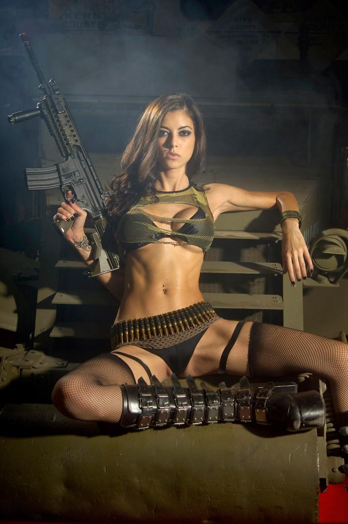 Nice soldier girl 700x1053 Nice soldier girl Weapons vertical wallpaper Sexy NeSFW