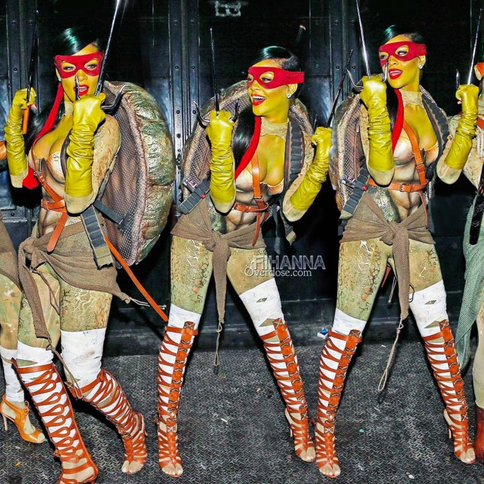 Rihanna as Raphael TMNT.jpg