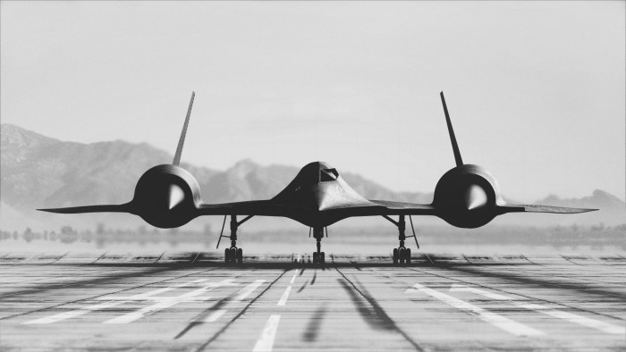 SR71 nose on