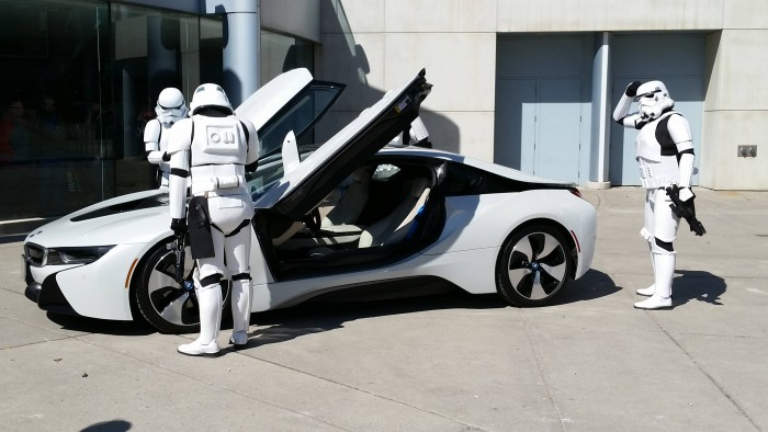 Storm Trooper Car
