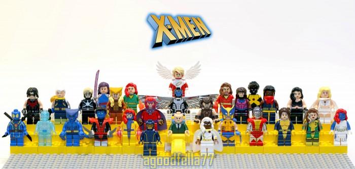 x men lego minifigs 700x333 x men lego minifigs
