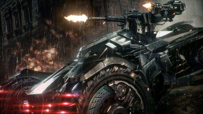 Batmobile with guns 700x394 Batmobile with guns