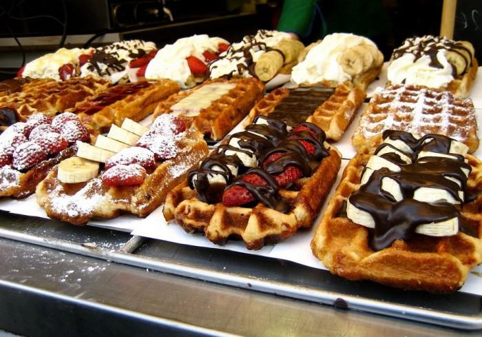 Belgian Waffle Desserts