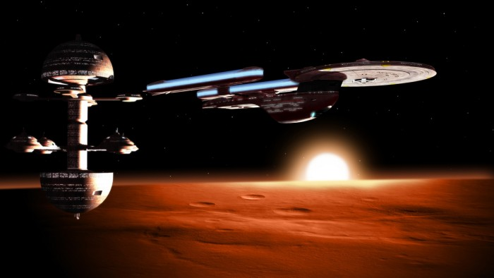 Excelsior over mars 700x394 Excelsior over mars