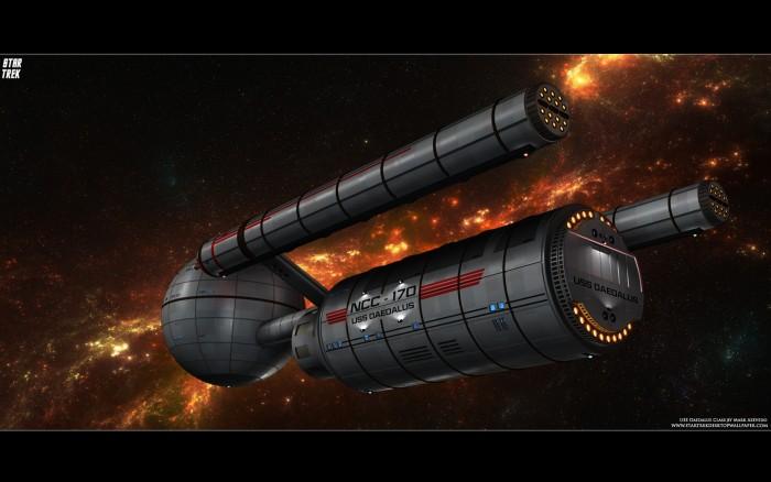 Star Trek USS Daedalus  700x438 Star Trek USS Daedalus