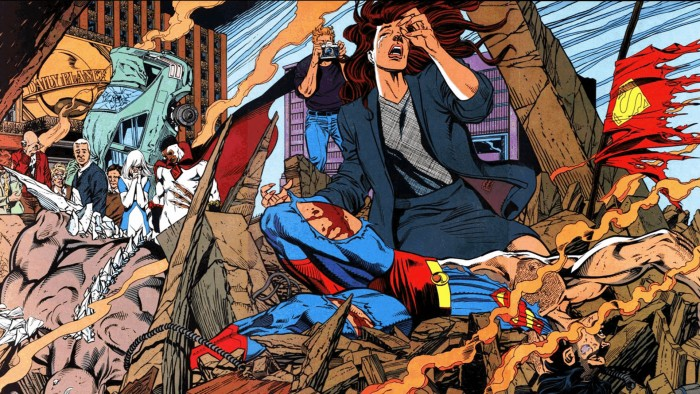 The Death of Superman 700x394 The Death of Superman