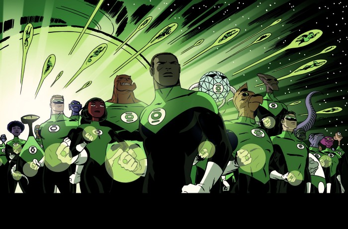The Green lantern corps 700x461 The Green lantern corps