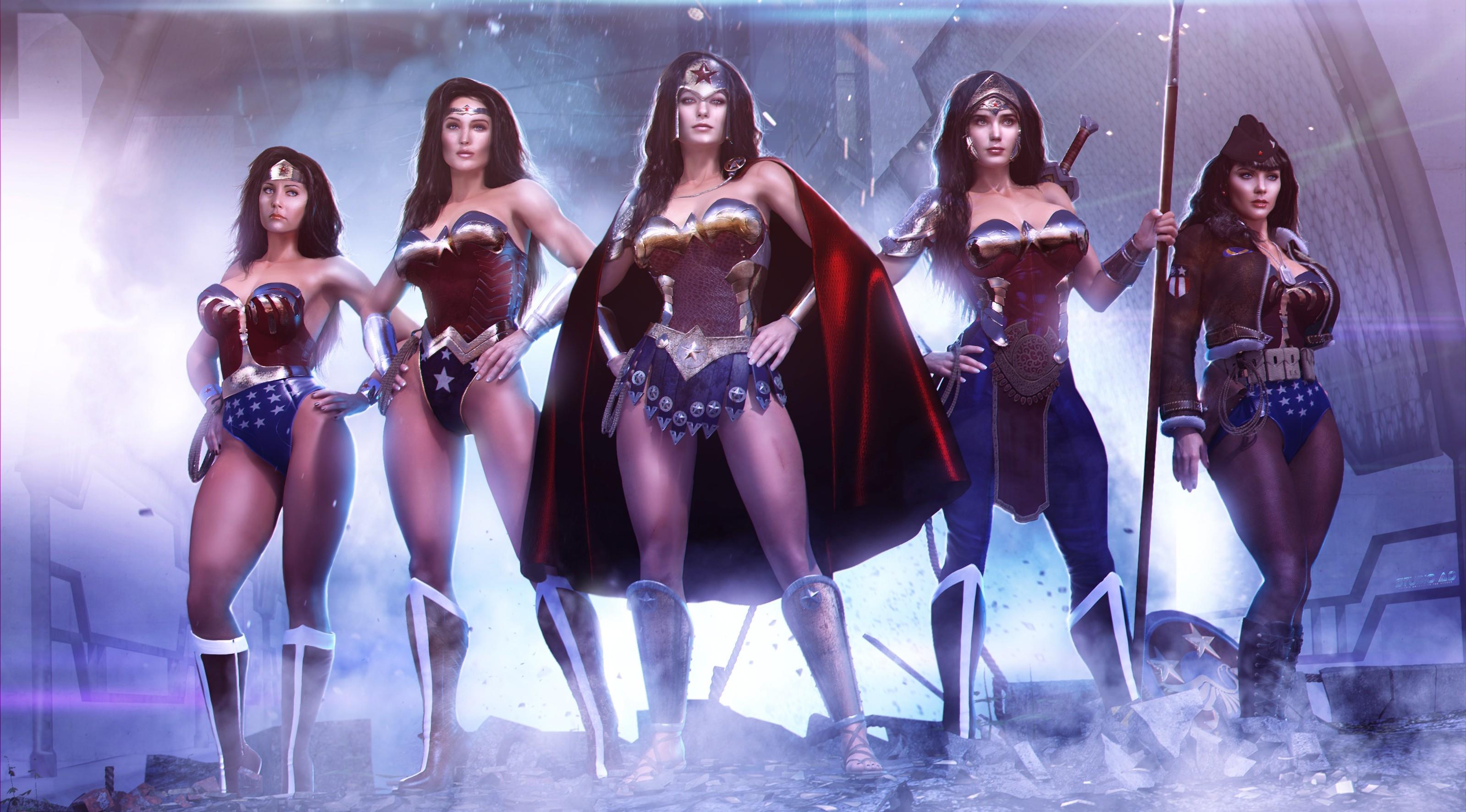 Wonder Woman Variations.jpg