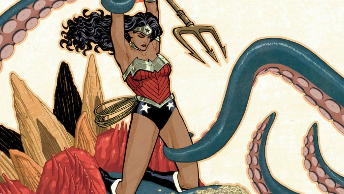 Wonder Woman vs Tentacle 700x394 Wonder Woman vs Tentacle