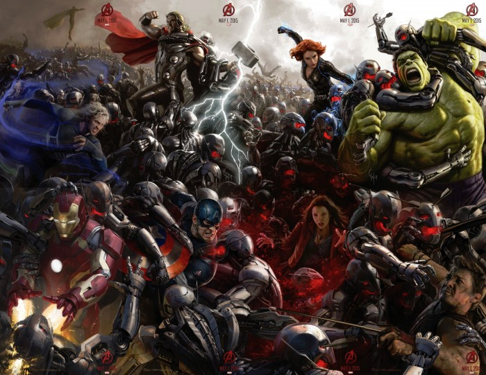 avengers age of ultron collage 700x541 avengers age of ultron collage