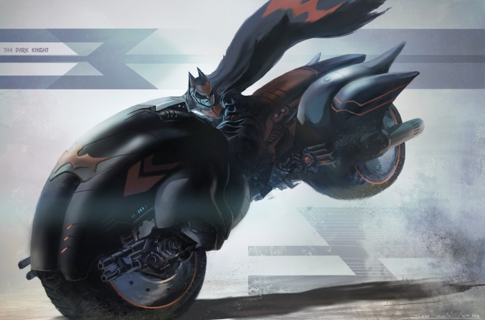 batman on a fat bike 700x462 batman on a fat bike