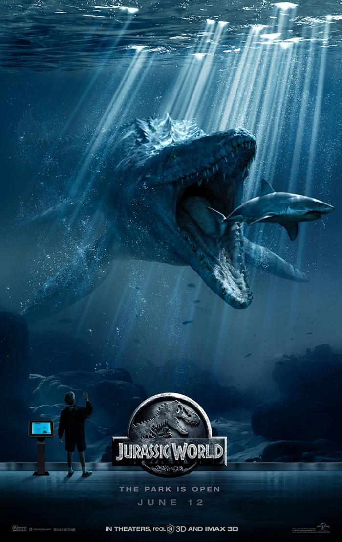 new jurassic world poster features the mosasaurus.jpg