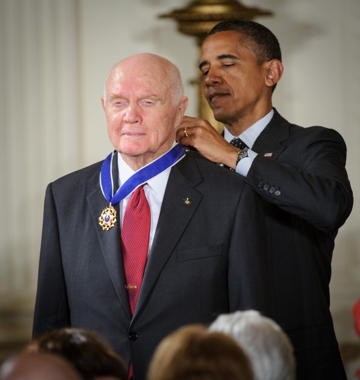 John Glenn Receives Presidential Medal of Freedom (201205290001HQ)