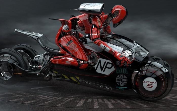 Ninja Robot on a Motorcycle.jpg