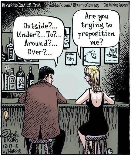 Propostioning Propostioning Humor Grammar dating