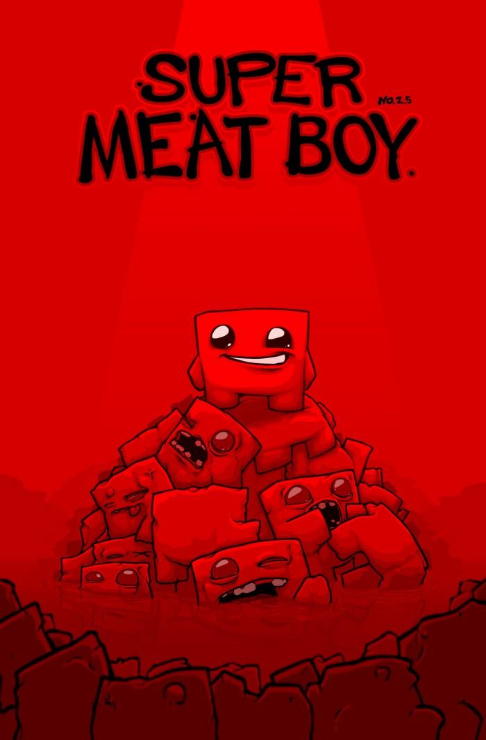 Super Meat Boy 700x1066 Super Meat Boy super meat boy Gaming