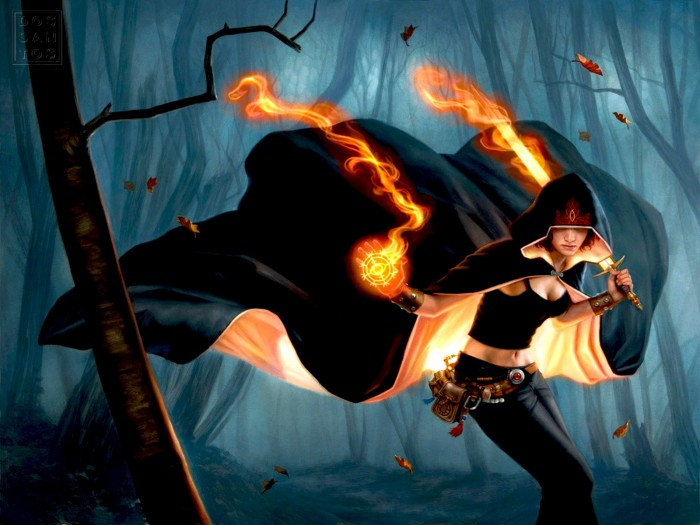 Flame Forest Wizard