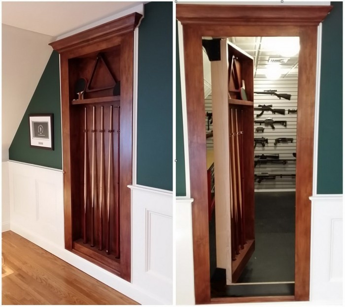 Hidden Gun Room